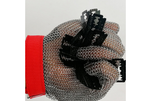 New Stainless Steel Mesh Gloves for Food Industry from Modern Eastern