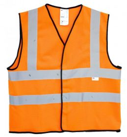 3M VEST 3M O Reflective Safety Vest Orange UAE