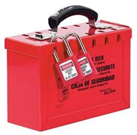 Modern MBOX01 Lockout Box Red UAE KSA