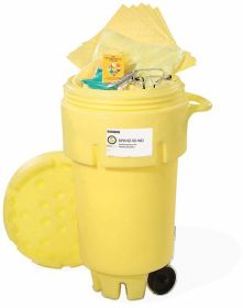 Spilltech SPKHZ-50-WD HazMat 50-Gallon Wheeled OverPack Salvage Drum Spill Kit UAE KSA