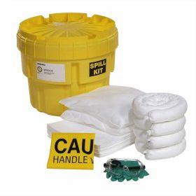 Spilltech SPKO-20 Oil Only 20 Gallon Over Pack Salvage Drum Spill Kit UAE KSA