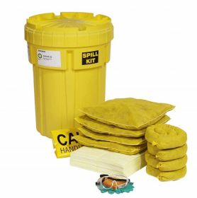 SpillTech SPKHZ-30 HazMat 30-Gallon OverPack Salvage Drum Spill Kit UAE KSA