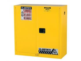 Sure-Grip EX Flammable Safety Cabinet 30 Gallon Manual Close Doors UAE