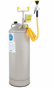 Bradley S19-788 Eye w/Drench Hose 15.0 gal Eye Wash Tank Capacity Pop Off Covers UAE KSA