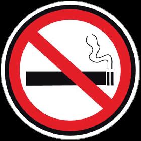 No Smoking Floor Sign UAE