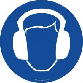 Ear Protection ( Blue)  EWM028 ​430mm Floor Markers & Safety Signs UAE