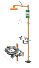 Guardian G1902 Safety Station with Eyewash Stainless Steel Bowl in UAE KSA