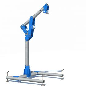 Tractel Davitrac Davit Arm for Confined Space Entry and Safe Lifting