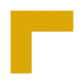 "FLEX Floor Marking Corners 6"" x 6"" UAE"