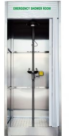 Enclosed Safety Shower and Eye Wash Station UAE