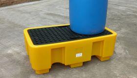 Jonesco SJ-100-002 2 Drum Spill Pallet UAE KSA