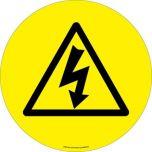 Electro Danger ( Symbol) EWM223 430mm Floor Markers & Safety Signs UAE