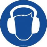 Ear Protection ( Blue)  EWM028 430mm Floor Markers & Safety Signs UAE