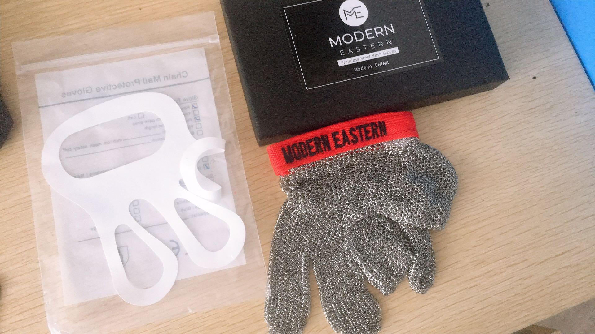 Mesh Gloves Modern Eastern